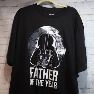 NWT  Star Wars Darth Vader Father of the Year Tee